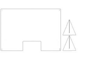 plexiglas spatscherm