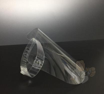 Gezichtsmasker Transparant